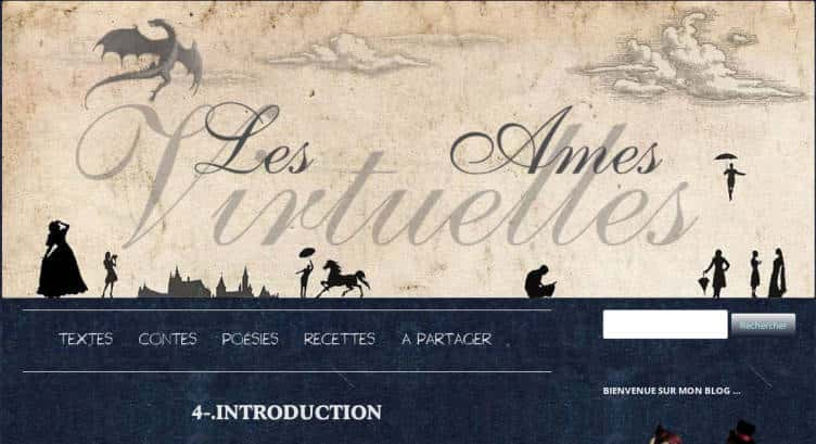 Blog les ames virtuelles,CC−By−Nc−Nd aneartiste.com