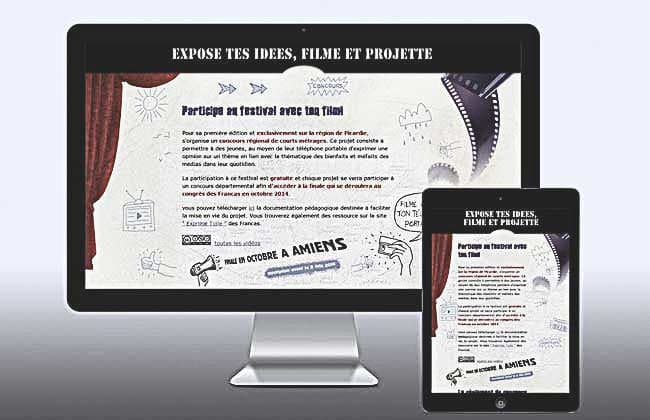 Responsives design,CC−By−Nc−Nd aneartiste.com